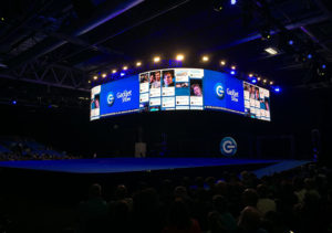 Fonix LED - Curving LED Screen Hire - Social Media Wall - Gadget Show Live