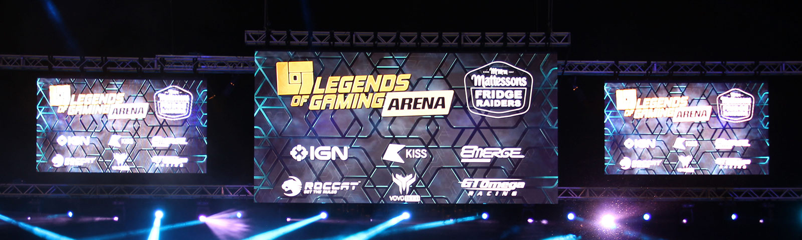 Fonix LED - LED Screen Hire - Case Study - Legends of Gaming