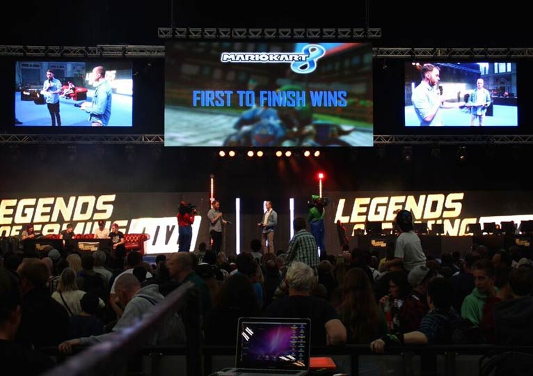 Fonix LED - LED Screen Hire - Legends of Gaming