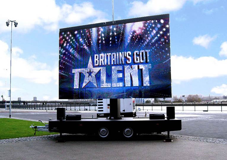 Fonix LED Screens - Mobile LED Screen Hire - Britain's Got Talent