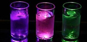 LED shot glasses - Fonix LED