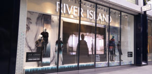 Retail and Visual Merchandising Screen - River Island - Fonix LED
