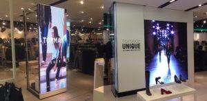 Topshop Autumn Winter 2015 Retail Display - Fonix LED