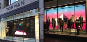 Topshop Retail Display - Fonix LED