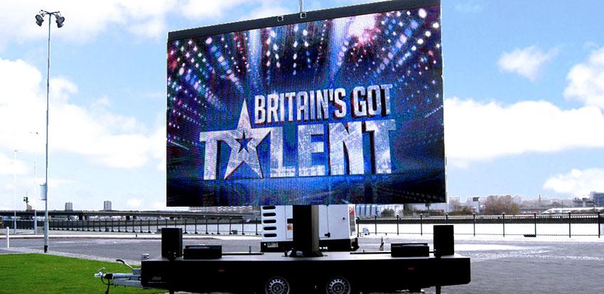 Britain's Got Talent Mobile LED Screen - Fonix LED